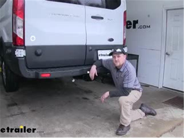 Tekonsha Trailer Wiring Harness Installation - 2016 Ford Transit T350 Video  | etrailer.cometrailer.com