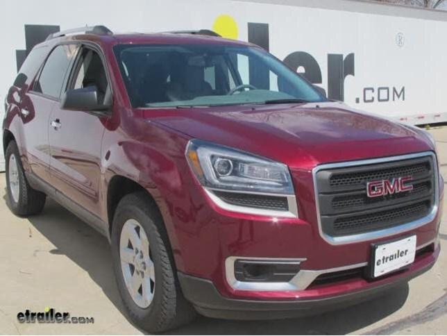 trailer wiring harness installation 2016 gmc acadia video rh etrailer com 2015 gmc acadia trailer wiring gmc acadia trailer wiring harness location