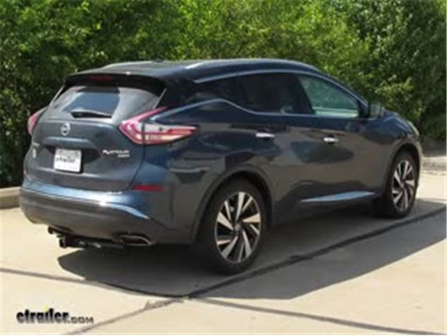 install trailer wiring 2016 nissan murano 118660_644 trailer wiring harness installation 2016 nissan murano video