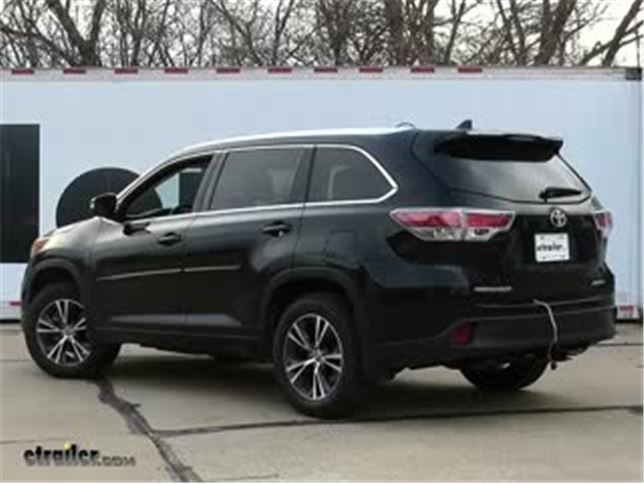 install trailer wiring 2016 toyota highlander c56217_644 trailer wiring harness installation 2016 toyota highlander video 2011 Toyota Highlander Limited Interior at gsmx.co
