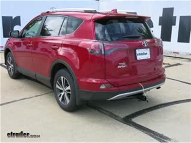trailer wiring harness installation 2016 toyota rav4 video rh etrailer com rav4 trailer wiring harness not working 2007 rav4 trailer wiring harness
