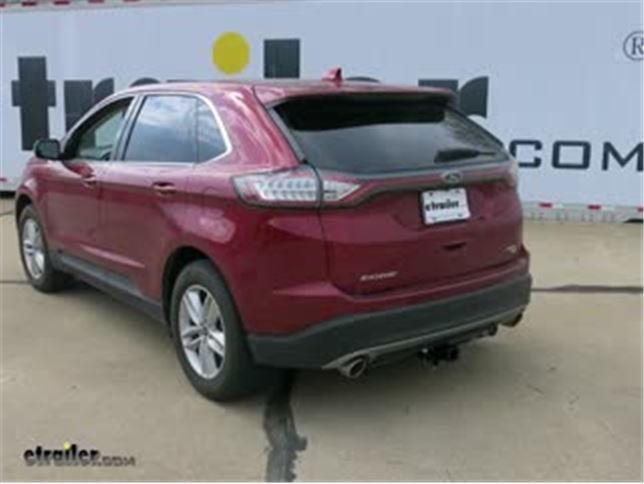 Trailer Wiring Harness Installation  Ford Edge Video Etrailer Com
