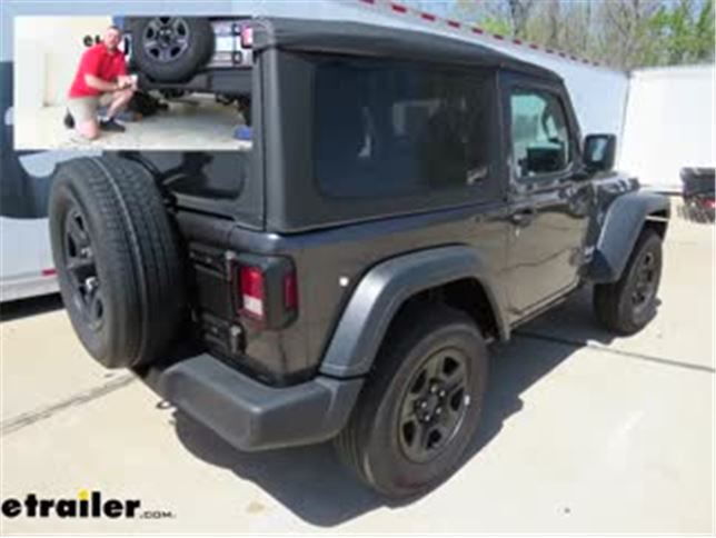 [DIAGRAM_38YU]  CurtT-Connector Vehicle Wiring Harness Installation - 2018 Jeep JL Wrangler  Video | etrailer.com | Hot Jeep Tj Trailer Wiring Harness |  | etrailer.com