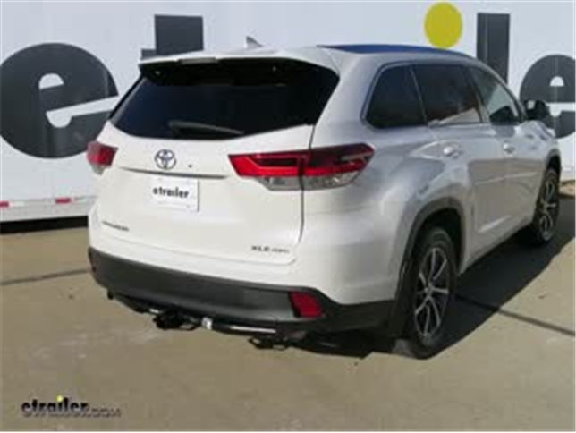 trailer wiring harness installation 2018 toyota highlander video rh etrailer com toyota highlander trailer wiring toyota highlander wiring harness installation