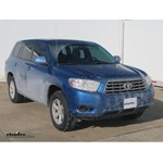 Trailer Wiring Harness Installation - 2012 Toyota Highlander