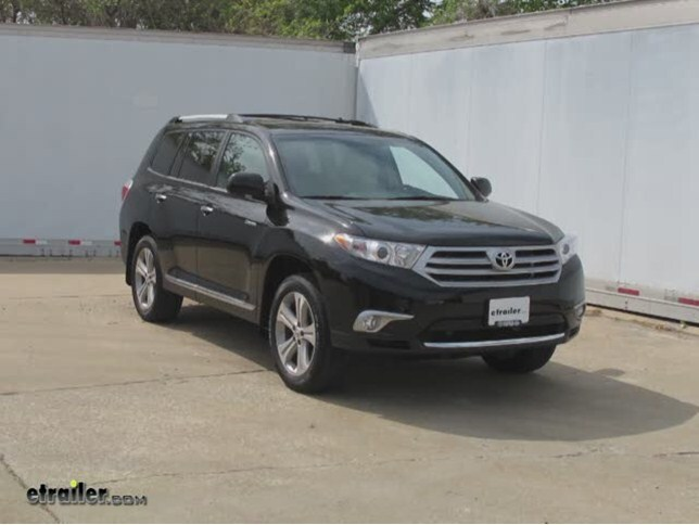 trailer wiring harness installation 2013 toyota highlander video rh etrailer com Trailer Hitch Brush 2012 toyota highlander trailer wiring harness
