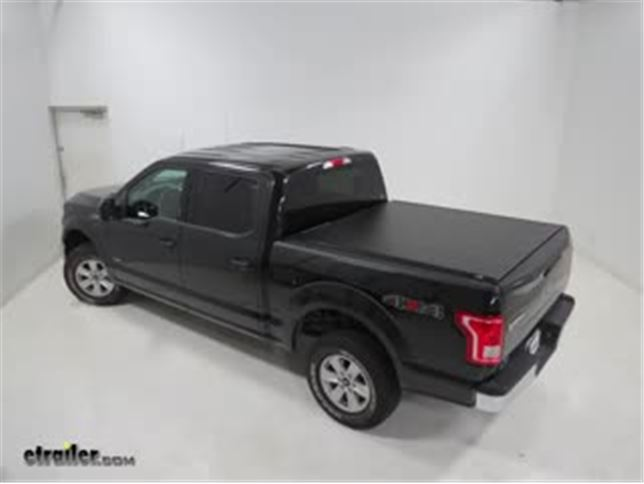 Truxedo Lo Pro Qt Soft Roll Up Tonneau Cover Installation 2015 Ford F 150 Video Etrailer Com