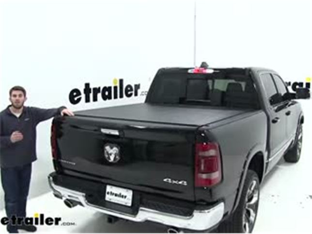 Truxedo Sentry Hard Tonneau Cover Installation 2019 Ram 1500 Video Etrailer Com