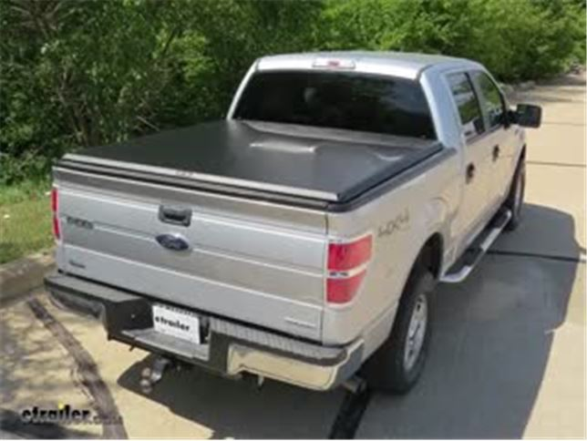 Truxedo Truxport Soft Roll Up Tonneau Cover Installation 2013 Ford F 150 Video Etrailer Com