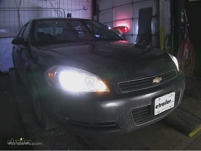 Vision X Halogen Headlight Bulbs Installation 2008 Chevrolet Impala Video Etrailer