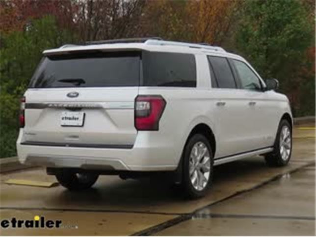 Weathertech Rear Pair Mud Flaps Installation  Ford Expedition Video Etrailer Com