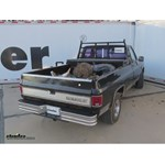 Westin Surestep Rear Bumper Kit Installation - 1986 Chevrolet CK Series Pickup