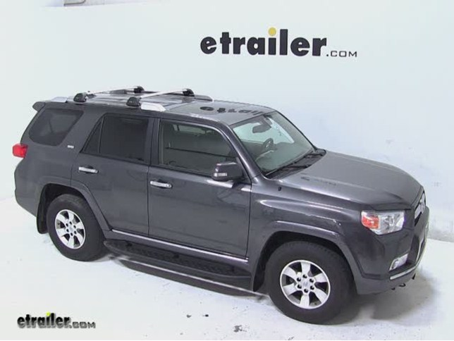 Whispbar Flush Bar Roof Rack Installation 2017 Toyota 4runner Video Etrailer