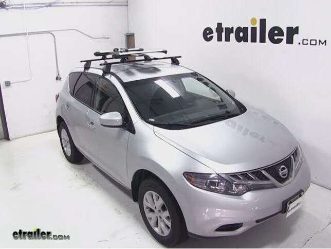 Lovely Today On Our 2013 Nissan Murano Weu0027ll Be Test Fitting The Whispbar Locking  Rooftop Ski And Snowboard Carrier, Six Skis Or Four Board Capacity, ...