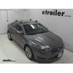 Whispbar Through Bar Roof Rack Installation   2014 Ford Taurus Video |  Etrailer.com