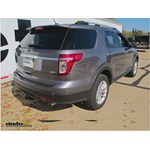 Trailer Wiring Harness Installation - 2014 Ford Explorer