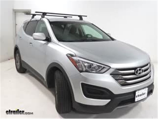 2017 Hyundai Santa Fe Roof Rack Cross Bars Instructions