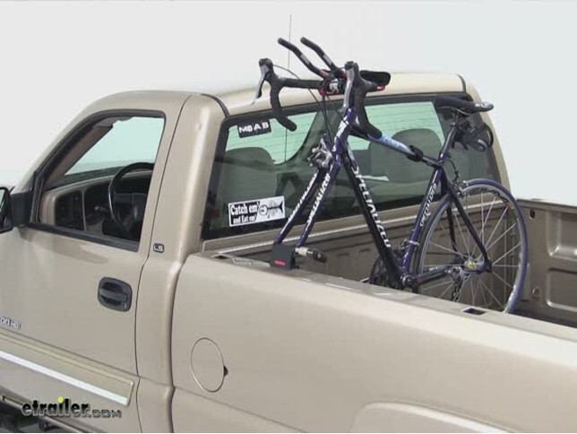 Yakima Holdup 2 >> Yakima Locking BedHead Single Bike Truck Bed Mounted Rack ...