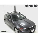 Yakima Control Tower Roof Rack Installation - 2007 BMW 3 Series