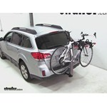 Yakima DoubleDown Ace Hitch Bike Rack Review - 2012 Subaru Outback Wagon