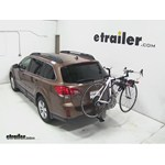 Yakima DoubleDown Ace Hitch Bike Rack Review - 2013 Subaru Outback Wagon