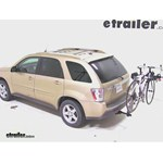 Yakima DoubleDown Ace Hitch Bike Rack Review - 2005 Chevrolet Equinox