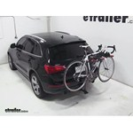 Yakima DoubleDown Ace Hitch Bike Rack Review - 2010 Audi Q5