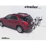 Yakima DoubleDown Ace Hitch Bike Rack Review - 2012 Chevrolet Equinox