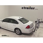 Yakima DoubleDown Ace Hitch Bike Rack Review - 2012 Chevrolet Impala