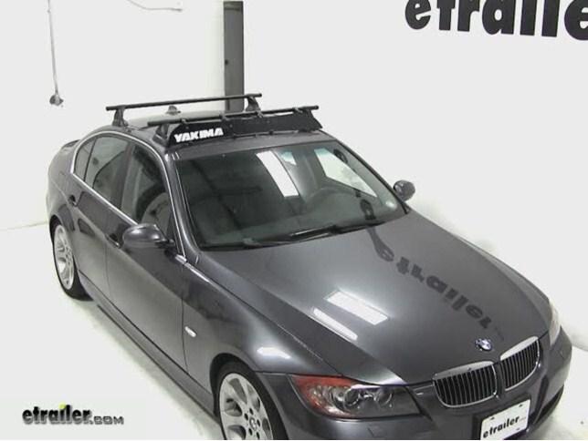 Yakima Roof Rack Fairing Review   2007 BMW 3 Series Video | Etrailer.com