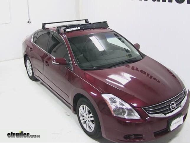 Beautiful Yakima Roof Rack Fairing Review   2010 Nissan Altima Video | Etrailer.com