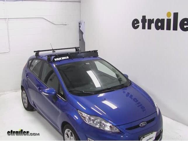Yakima Roof Rack Fairing Review   2011 Ford Fiesta Video | Etrailer.com