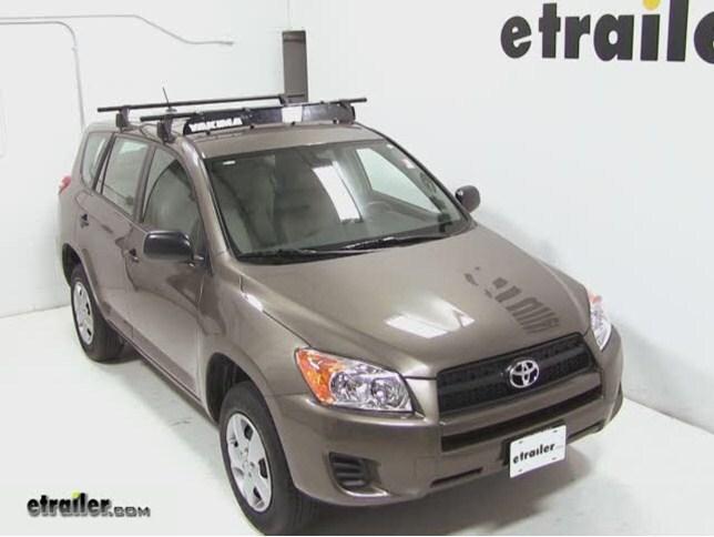 Yakima Roof Rack Fairing Review   2012 Toyota RAV4 Video | Etrailer.com