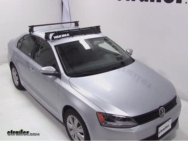 Yakima Roof Rack Fairing Review - 2012 Volkswagen Jetta Video ...