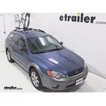 Yakima FrontLoader Roof Bike Rack Review - 2006 Subaru Outback Wagon