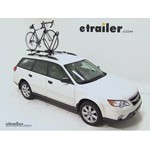 Yakima FrontLoader Roof Bike Rack Review - 2008 Subaru Outback