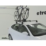 Yakima FrontLoader Roof Bike Rack Review - 2010 Hyundai Elantra