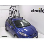 Yakima FrontLoader Roof Bike Rack Review - 2011 Ford Fiesta