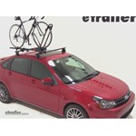Yakima FrontLoader Roof Bike Rack Review - 2011 Ford Focus