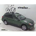 Yakima FrontLoader Roof Bike Rack Review - 2011 Subaru Outback Wagon