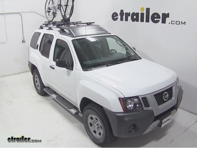 Yakima FrontLoader Roof Bike Rack Review - 2012 Nissan Xterra Video