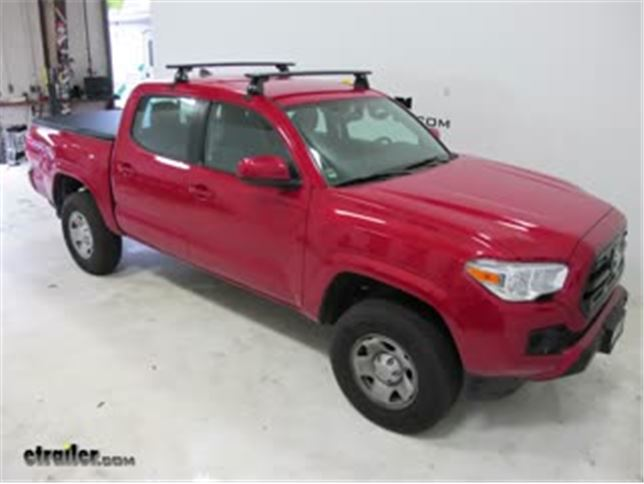 Yakima Roof Rack Review 2017 Toyota Tacoma Video Etrailer Com