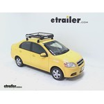 Yakima LoadWarrior Roof Cargo Basket Review - 2010 Chevrolet Aveo