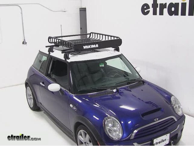 yakima loadwarrior roof cargo basket review - 2004 mini cooper video
