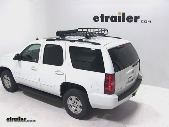 Yakima LoadWarrior Roof Cargo Basket Review - 2013 Chevrolet Tahoe