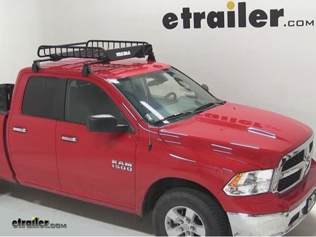 2014 Dodge Ram Pickup Yakima Loadwarrior Roof Rack Cargo