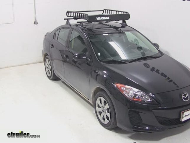 Yakima LoadWarrior Roof Cargo Basket Review   2013 Mazda 3