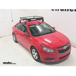 Yakima LoadWarrior Roof Cargo Basket Review - 2014 Chevrolet Cruze