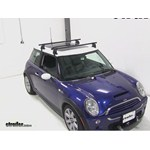 Yakima Q Tower Roof Rack Installation - 2004 Mini Cooper