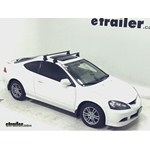 Yakima Q Tower Roof Rack Installation - 2006 Acura RSX